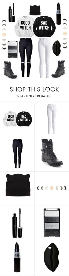 """""""The Coven"""" by witchousenova ❤ liked on Polyvore featuring Barbour International, Refresh, Hot Topic, Marc Jacobs and STELLA McCARTNEY"""
