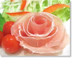 prosciuto rose