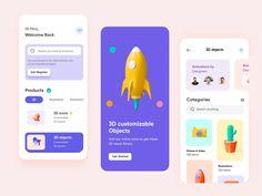 Online Studio Mobile App- UX/UI Design by Hira Riaz🔥 Web Design, App Ui Design, Ui Kit, Ios, App Design Inspiration, Mobile Ui Design, Screen Design, Best Mobile, Interactive Design