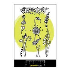 Carabelle Studio Stamp Set - Herbes Folles and Texture - SA60112