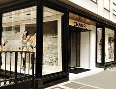 Chanel Paris  8x10 Paris Photo  Coco Chanel  Black by chezjolly, $22.00