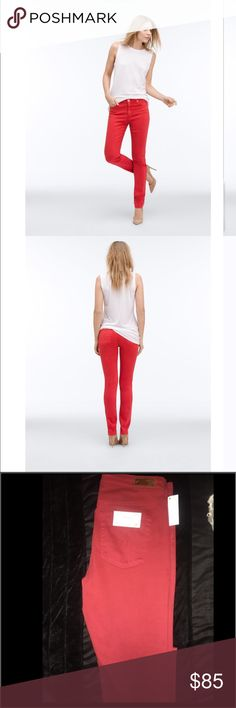 """Adriano Goldschmied Adriano Goldschmied size 28 very flattering and comfy fit. Fits true to size. Mid-rise cigarette.  Front Rise: 8.5"""" Knee Opening: 13.5"""" Bottom Opening: 11.5"""" Inseam: 30"""" AG Adriano Goldschmied Jeans"""