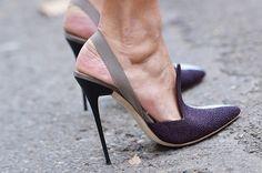 Two tone pumps Stilettos, Pumps, Stiletto Heels, High Heels, Pretty Shoes, Beautiful Shoes, Hot Shoes, Shoes Heels, Summer Shoes