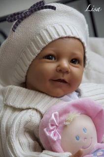Lisa by Linde Sherer All Doll Kits (Artists) - Online Store - City of Reborn Angels Supplier of Reborn Doll Kits and Supplies