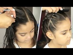 5 peinados fáciles para niñas que tu hija amará - YouTube