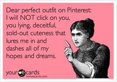 So true!!! I always click. smh.