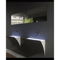 ANTONIO LUPI WALL CABINET WITH VERTICAL ELCTRICAL FLAP-OPENING DOOR WITH OR WITHOUT MIRROR SEGRETO SERIES