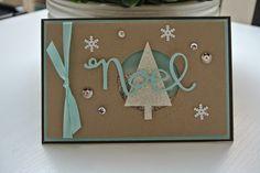 SU! Tree punch, Snowflake Card Thinlits dies - http://miriam-cardsandscrapping.blogspot.nl