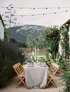 We'd love to be invited to this intimate garden wedding!