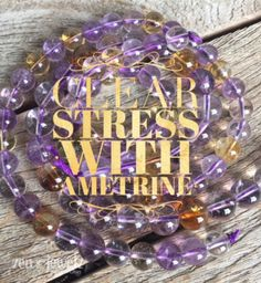 Are you stressed and looking for a natural way to help soothe you? Try wearing our high quality Ametrine and feel your stress melt away! zenjewelz.com & search Ametrine in the zj shop. Ametrine jewelry | healing crystal jewelry | hand made in the USA | high quality gemstone jewelry | zen jewelz | ZenJen