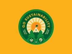 It happened. The badge guy got a chance to design an actual Boy Scout badge! My client gosolar.com hired me to make this rad sustainability badge. Creative direction by the talented @jaredfitch   T...