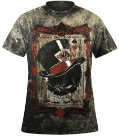 T-Shirt Mec ALCHEMY GOTHIC - The Dead Draw - http://rockagogo.com