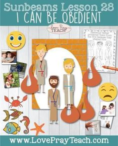"""Primary 1 Sunbeams Lesson 28: """"I Can Be Obedient"""" - Love Pray Teach"""