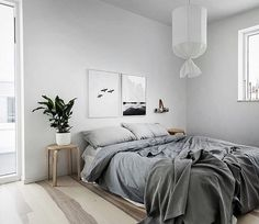 Gorgeous grey bedroom
