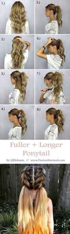 5 minuten frisuren dünne haare