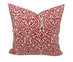 Beautiful Ikat Print Decorative Throw Pillow, by Trellis Home Decor