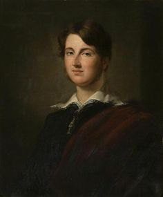 7th Earl of Sandwich by George Hayter in 1832 - John William Montagu, 7th Earl of Sandwich PC (1811–1884), styled Viscount Hinchingbrooke from 1814 to 1818, was a British peer & Conservative politician. He served under Lord Derby as Captain of the Honourable Corps of Gentlemen-at-Arms in 1852 & as Master of the Buckhounds between 1858 & 1859.