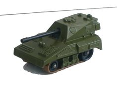 Vintage 1976 matchbox lesney gun tank number 70 very good excellent
