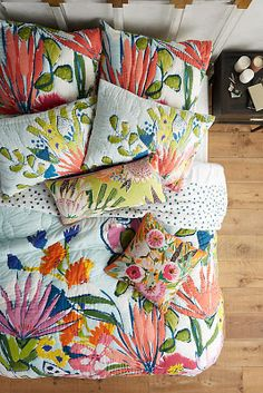 Summer bedding and new arrivals at anthropologie