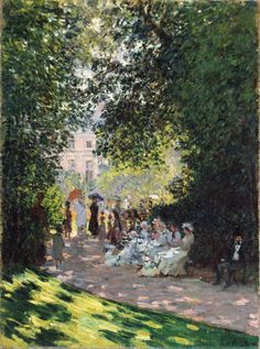 "https://www.facebook.com/Claude.Monet.MiaFeigelson.Gallery  ""The Parc Monceau"" (1878) By Claude Monet, from Paris (1840 – 1926) oil on canvas; 72.7 x 54.3 cm; 28 5/8 x 21 3/8 in - [Impressionism] © The Metropolitan Museum of Art, New York The Mr. and Mrs. Henry Ittleson Jr. Purchase Fund, 1959 http://www.metmuseum.org/ https://www.facebook.com/metmuseum"