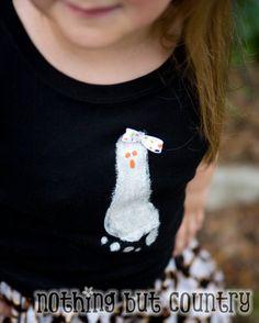 Halloween Ghost DIY T-Shirt