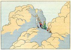 アンドレ・マルティ 「青い鳥」 1945年 André E. Marty, L'Oiseau Bleu, 1945.