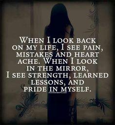 Cuando miro atrás... Cuando miro al espejo.