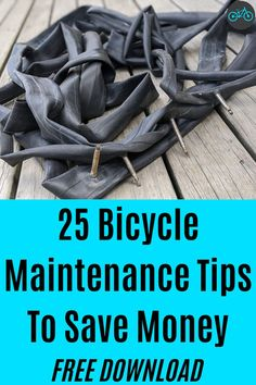 25 Money Saving Bike Maintenance Tips Recycled Bike Parts, Commuter Bike, Bicycle Maintenance, Money Saving Tips, Road Bikes, Reuse, Mistakes, Cycling, Mountain