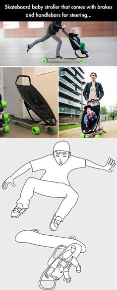 She was a skater mom, she said see you later mom...