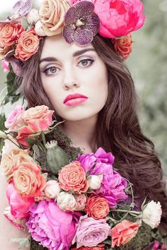 Flower-Filled Woodland Wedding Inspiration | Cristina Rossi Photography | Bridal Musings Wedding Blog 28
