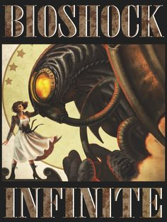 BioShock Infinite by Tsel26.deviantart.com on @deviantART #gamer #geek