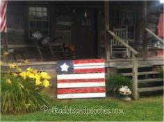 Pallets for fourth of july!