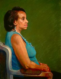 Pastel Painting created from life   http://www.DonnaMitchellPastels.com