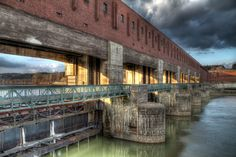 Kachlet, a hydro-electric power plant on river Danube in Passau, Germany European River Cruises, Power Energy, Electric Power, Amazing Architecture, Passau Germany, Explore, Country, Plants, Engineering