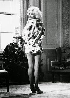 Marilyn Monroe 1962 dans son dernier film Something got to give