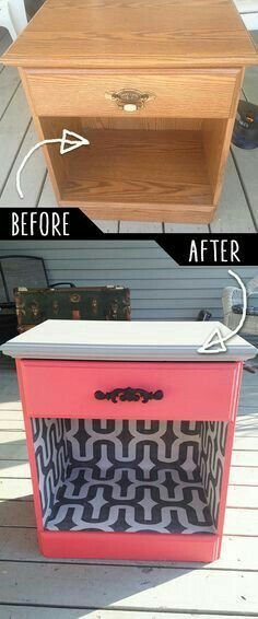 Rustic Farmhouse End Table Makeover