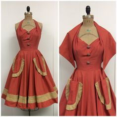 Vintage dresses 50s- Vintage dresses and 1950s on Pinterest