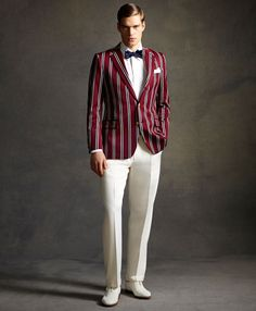 great gatsby tux | Great Gatsby Inspired Menswear Collection by Brooks Brothers ...