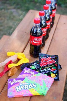 expériences surprenantes avec des bonbons /wooloo