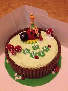 Tinkerbell cake number 2