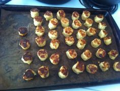 Cauli-tots that taste like potatoes!
