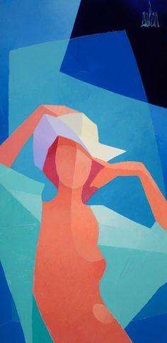 Original acrylic on canvas painting by Stephane Bulan - Paris Art Web Art Web, Aesthetic Painting, Paris Art, Seascape Paintings, Figure Painting, Art Techniques, Online Art Gallery, Painting Inspiration, Les Oeuvres