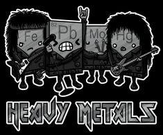 Heavy metals.