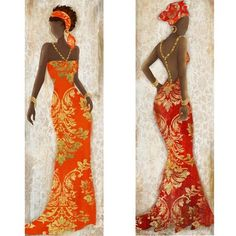 The Range African Girl, African Women, African Fashion, Photo Frame Crafts, African Paintings, Caribbean Art, Art Africain, Africa Art, African Dresses For Women