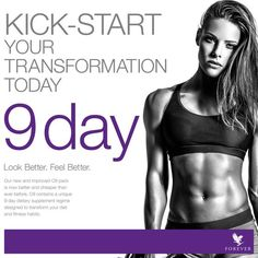Look better and feel great in just nine days with this expertly-devised cleansing plan. Designed to kick-start the F.I.T. programme, cleanse your body and adjust your mindset, C9 provides the perfect starting point for transforming your diet and fitness habits. Based around Forever's bestselling Aloe Vera Gel drink, this nutritionally-balanced program will allow you to see real results in just nine days