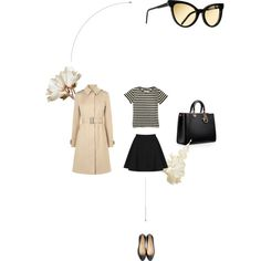 """creamy style"" by essenceve on Polyvore"