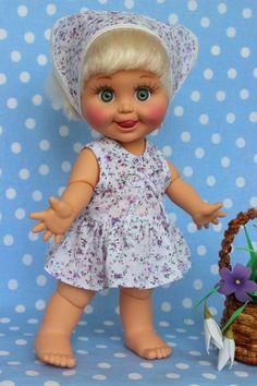 Здравствуйте многоуважаемые гости моего шопика! Рада видеть всех!)))))) Продаю ДиДи ООАК от Galoob Baby Face.Год выпуска 1990.Рост 33 см.Виниловая, шарнирная.Перетянута, / 3 700р