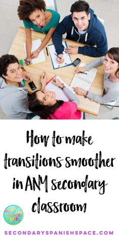 How one secondary teacher manages transitions in a way that is quick AND builds classroom community!