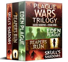 Plague Wars: Infection Day: The First Trilogy: Three apocalyptic technothriller sci-fi adventures (Plague Wars Series)