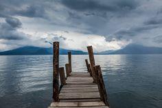 Gravity -A storm is coming.  Panajachel, Guatemala. (Juan Aguilar/National Geographic Traveler Photo Contest)